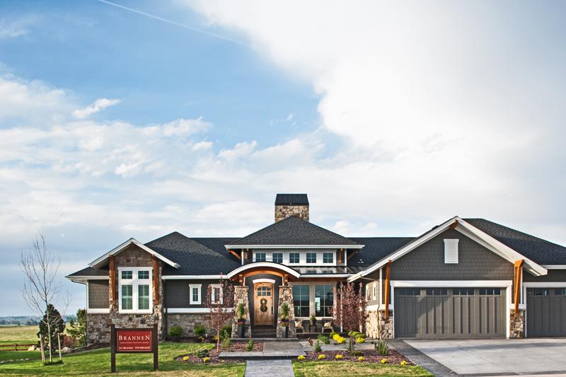 FOCO Custom home exterior build by Brannen Design & Constructoin