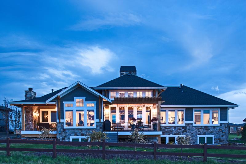 Fort Collins home exterior built by Brannen Design & Construction